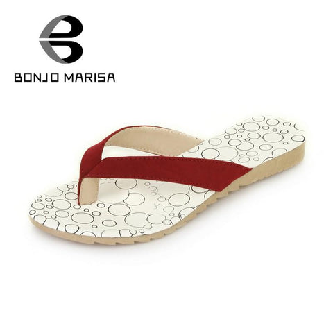 2016 brand sale concise ship on women soft flip flops shoes vintage polka dot pink/red/black lady beach summer sandals
