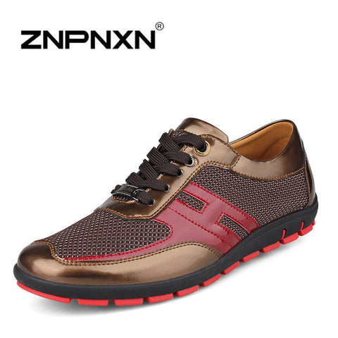 2014 New Oxford Shoes For Men Casual Leather Shoes In Autumn Summer Men Dress Shoes Genuine Leather Athletic  Breathable 38-47
