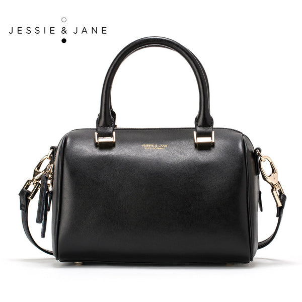 Jessie Jane Women Messenger Bags Designer Brand 2016 New Genuine Leather Boston Bags Jane Syle