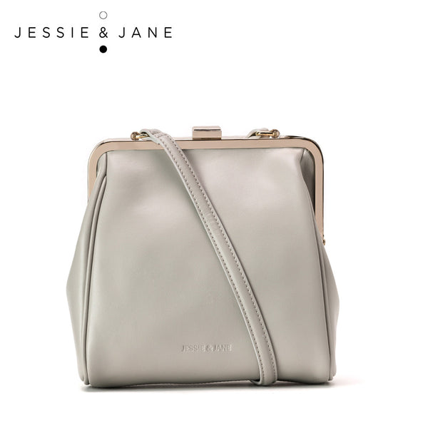Jessie&Jane 2015 New Women Leather bags Designer Brand Margo East West Small Satchel Jane Style 1039