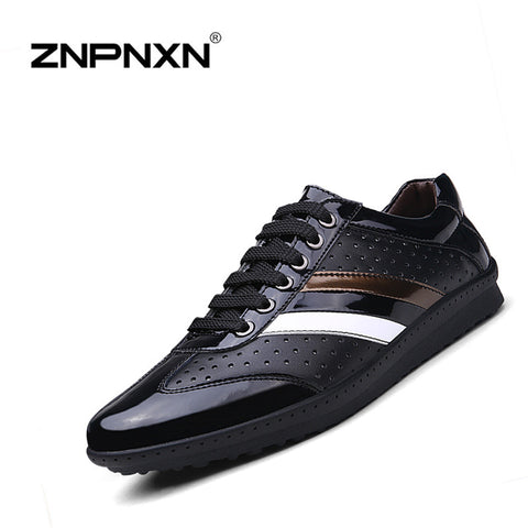 2016 New Casual Men Shoes Genuine Leather  Shoes For Men