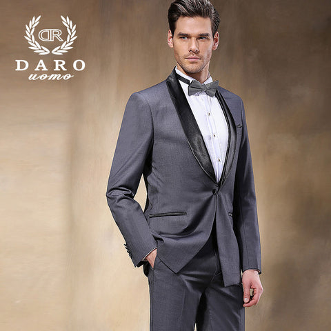2015 New Arrival Men Suits Brand Spring Fashion Casual Slim Fit Business Dress Blazers Suits Blazer (Jacket+Pants) DR8855-5