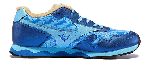 MIZUNO Sports Sneakers Men's Rubber Shoes SKY ROAD Vintage Cushioning Walking Shoes K1GG148819 XMR1599