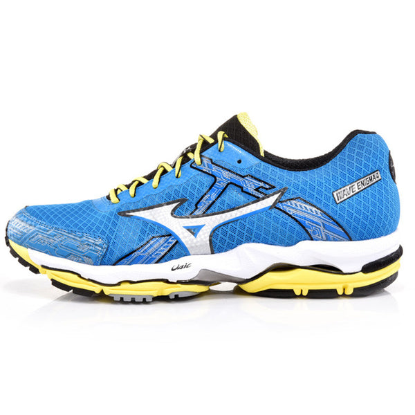MIZUNO Sports Sneakers Men's Shoes WAVE ENIGMA 4  SR TOUCH Cushioning Mesh Breathable Jogging Running Shoes J1GC140210 XYP241