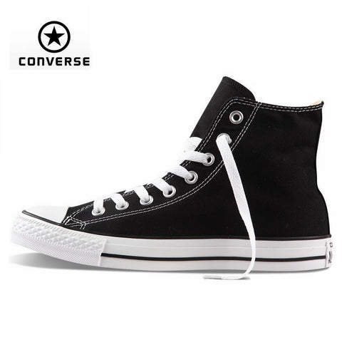 Original Converse all star shoes high men women's sneakers canvas shoes for men women classic Skateboarding Shoes free shipping
