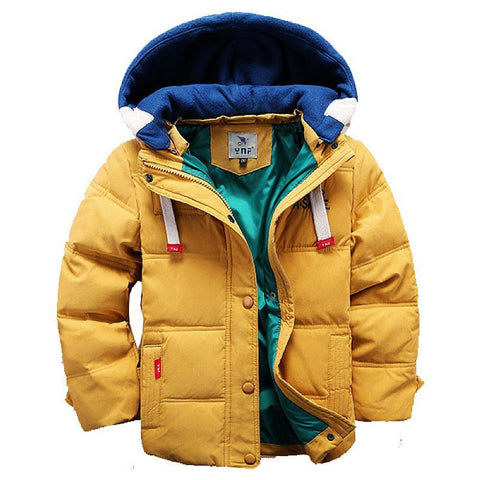 High End 2013 New Arrival brand children coat Hooded Boys' coat Parkas designer kids boys coat children outerwear
