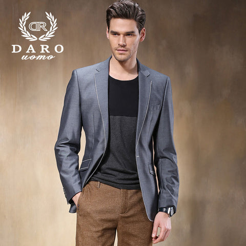 (Jacket+Pants) Factory Direct Cheap 2015 New Formal Casual Men Suits Fashion Casual Brand DAROuomo Blazer Suits For Men DR8005-4