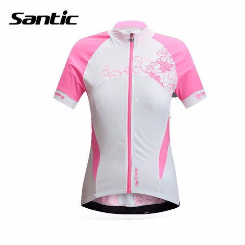 2016 Spring Santic Pro Brand Women Cycling Jerseys Short Sleeve Cycling Sportwear Jerseys Cycling Women Summer Shirts L5C02079P