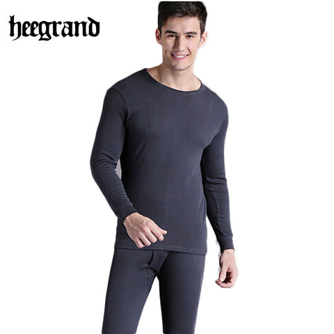 2014 Comfortable casual cotton inside suit high quality  winter thermal men underwear drop shipping NST015