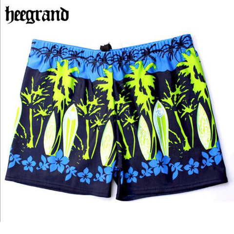 2016 Summer Style Low Waist Tropical Amorous Feelings Beach Pants Large Size Men Shorts MYP057