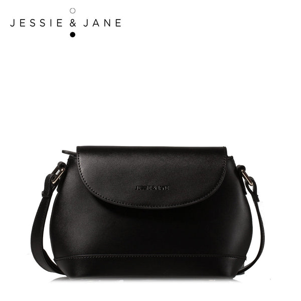 JessieJane Women Mini Flap Designer Brand Genuine Leather Messenger bags Jane Style 1005