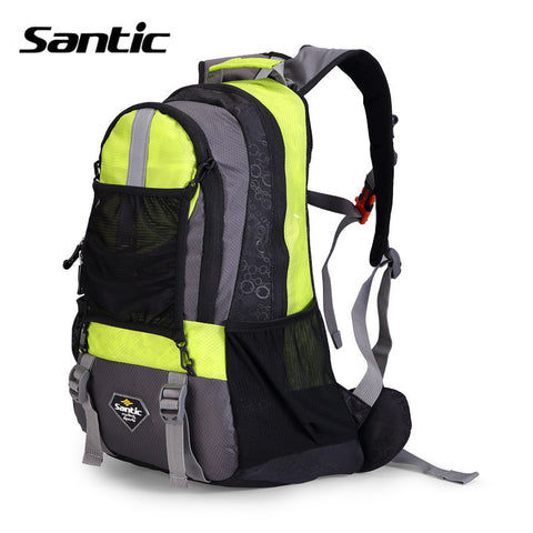 2016 Santic Outdoor Hiking Bags Mountain Bike Cycling Backpack Sports Rainproof Storage Bag Shoulder Fitness Black S34190501H