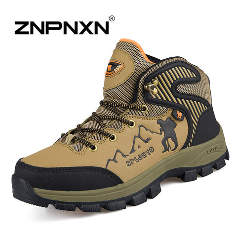 2014 New Mens Shoes Brand Hot Sale Waterproof Outdoor Hiking Shoes Athletic Shoes Breathable Mountain Climbing Boots