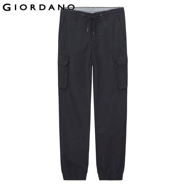 Giordano Men Multi-Pocket Joggers Solid Jogging Pants Male Sport Mens Trousers Pantalon Homme Pantalones Hombre