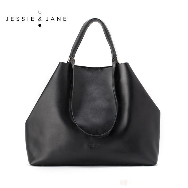Jessie Jane Women Shoulder Bags Designer Brand 2016 Fashion Genuine Leather Bags Stylish Totes