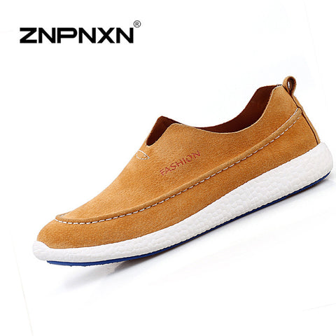 2016 New Shoes For Men Casual  Men Shoes Solid Flat With