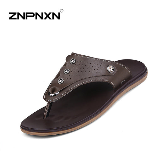 2016 New Summer Slippers  Sandal Flat For Men