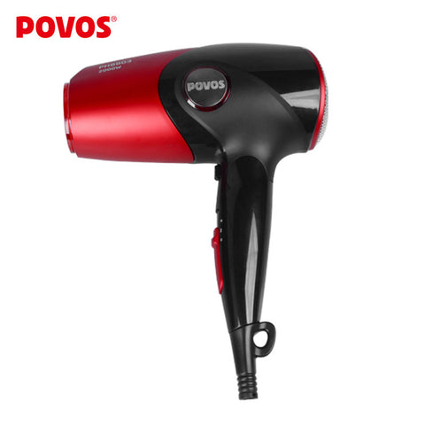 POVOS Brand New Wholesale PH8803 3-Mode Ionic 2000W Hair Dryer Hairdryer Hair Blower with Hang-up Hook