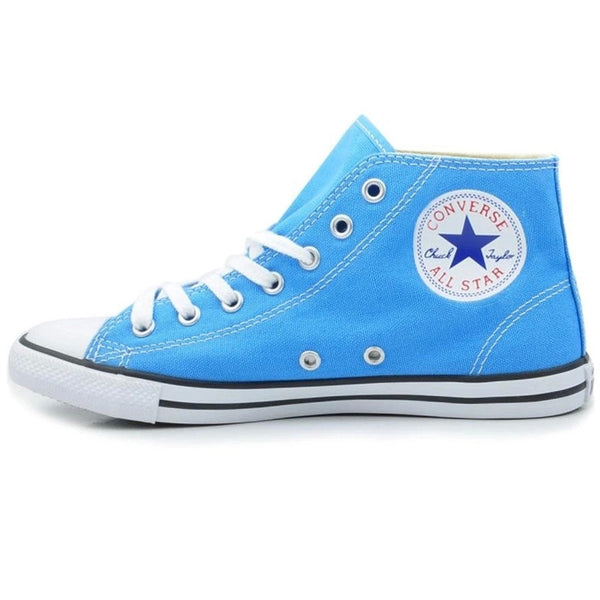 Original Converse Chuck Taylor All Star sneakers powderblue women high canvas shoes for women Skateboarding Shoes free shipping