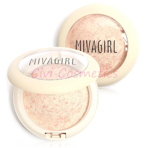 Bare Face Affection Foundation Full Cover Baked Powder Makeup by Miva Girl