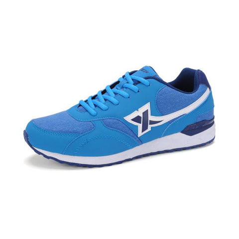 2015 NEW Xtep Men Shoes Running Shoes for Men Breathable Low Rubber Sneaker Outdoor Sport Shoes Blue EUR Size 40-44 986319119383