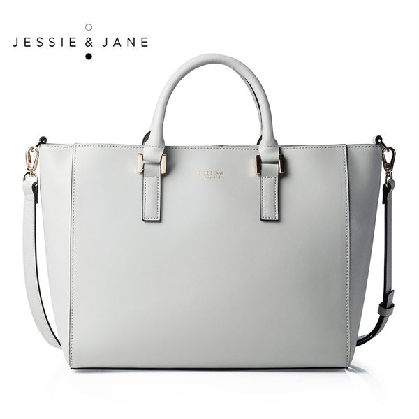 JESSIE&JANE Designer Brand Women's Bags 2016 New Arrival Wellington Series Lady Stylish Leather Top-handle Bags 1218