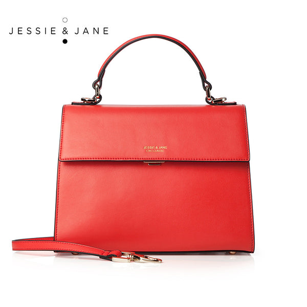 Jessie Jane Women Messenger Bags Designer Brand 2016 New Hollywood Series Fashion Genuine Leather Bag
