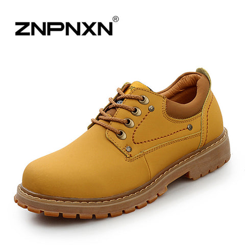 2014 new fashion Winter men's tooling shoes,men high quality leather martin casual boots Outdoor Work Shoes 3 colors