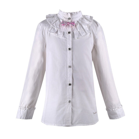 European style 2014 new fashion children shirts, american girls shirts, floral kids shirt for girl, Hot children clothing