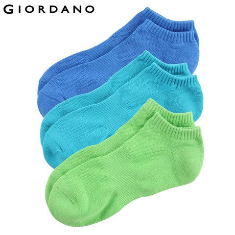 Giordano Men Ankle socks(3-pack)