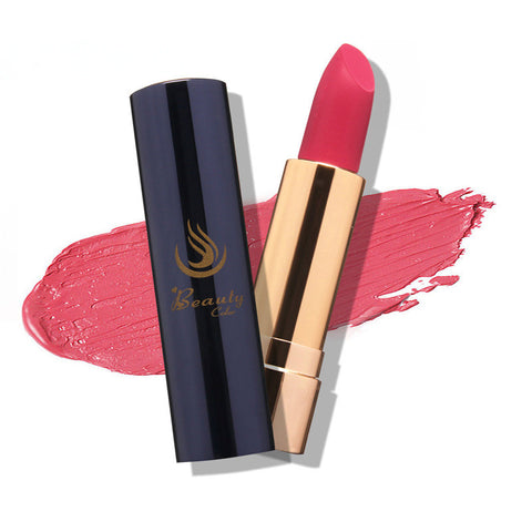 9 Colors 1 PCS Cosmetic Makeup Long Lasting Bright Lipstick Lip Stick Nude Colors Beauty