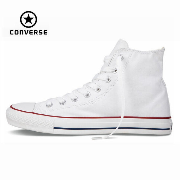 Original Converse all star shoes high men women's sneakers canvas shoes High blue classic Skateboarding Shoes free shipping