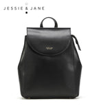 JessieJane Women Backpack Fashion Vintage Elegant Genuine Leather Satchel Jane Style 1087