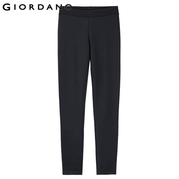 Giordano Women Brand Thin Jacquard-Weaved Skinny Houndstooth Pants Trousers Quality Legging Pantalones Mujer De Marca