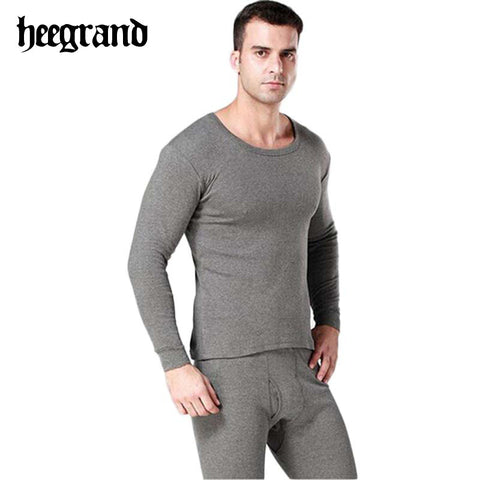 2014 Comfortable solid cotton high quality warm casual thermal men underwear drop shipping NBT057