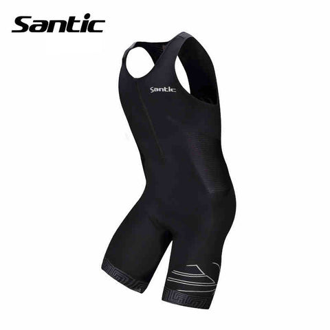 2015 Santic Brand Triathlon Clothing Cycling Triathlon Mens Cycling Jerseys Sleeveless Mens Bicycle Triathlon Clothing M5C03006V