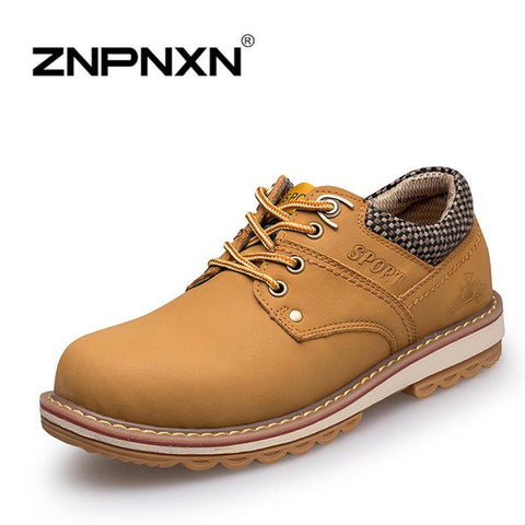 2015 New Fashion Spring British Martin Causal Genuine Leather Men Shoes Sneakers Brand Men Shoes real leather Men Flats