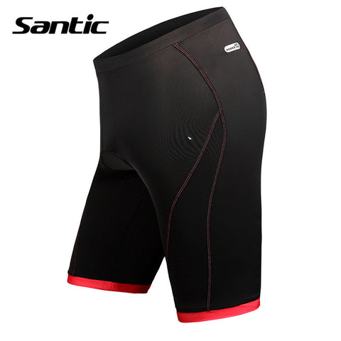 Women Santic Padded Gel Cycling Bike Tights Shorts 2016 Bicycle Red MTB Summer Basic Style Sports Cycling Shorts LC05040R