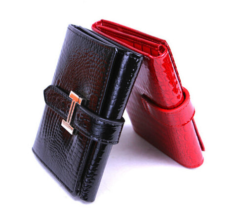 2014 new High quality Brand designer real genuine leather women wallet women purse wallets fashion crocodile purse Free Shipping