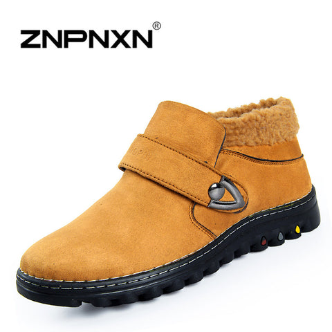 2014 New Design Men's Warm Cotton Boots Autumn Winter Outdoors Boots XMX8602