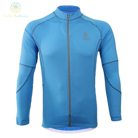 cycling running zip thermal long sleeve coat jacket outdoor sports fitness equipment elastic breathable 60016 all weather