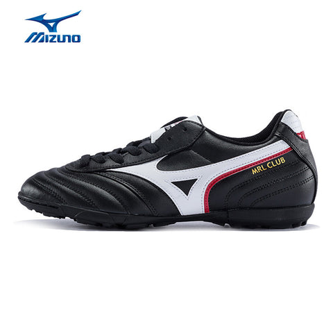 MIZUNO 2016 Men's Sports Leather Beathable Cushioning Soccer Shoes MRL CLUB AS Light Sport Shoes Sneakers12KT-38401 YXZ008
