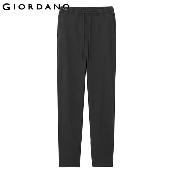 Giordano Women Straight Sport Pants Soft Cotton Female Sweatpants Brand Knitted Trousers for Women Pantalones Mujer