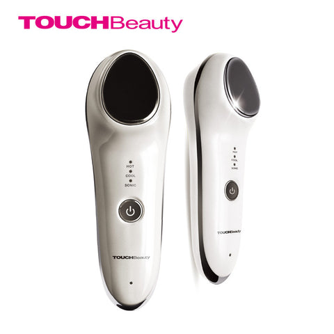 TOUCHBeauty hot cool skin rejuvenator cutting-edge technology 42 centigrade hot massage 6 centigrade cool massage instant shift