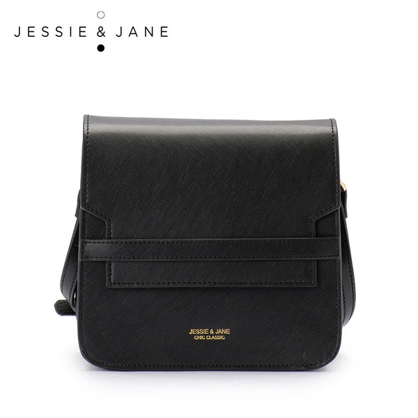 JessieJane Designer Brand Women Messenger bags Vintage Genuine Leather Flaps Jane Style 1031
