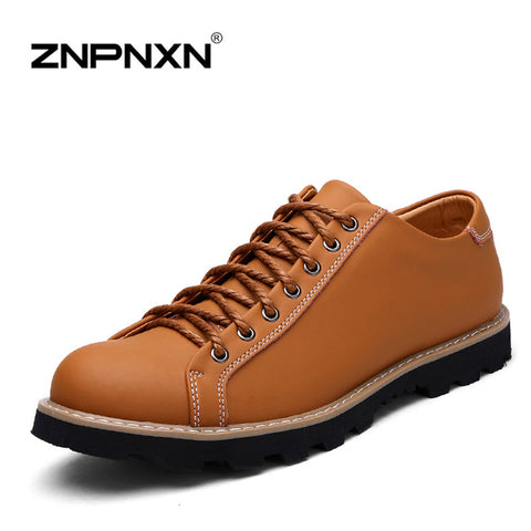 2015 New Handmade Genuine Leather Men Shoes Summer Flat Casual Shoes Original Brand Men flats Shoes