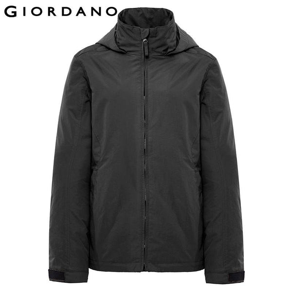 Giordano Men Winbreaker Windproof Sport Long Sleeve Male Outdoor Jacket Casual Hooded Jacket for Men Jaqueta Masculina
