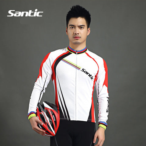 2015 Santic Men Cycling Jacket Specialized Cycling Summer Jersey Bike Winter Fleece Cycling Jackets Cycling Jacket WMC01028