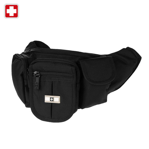 Swisswin Genuine Swiss Army Knife Men Messenger Bag Waist Pack Men Casual Sports Bags Fanny Pack Waterproof Belt phone bag