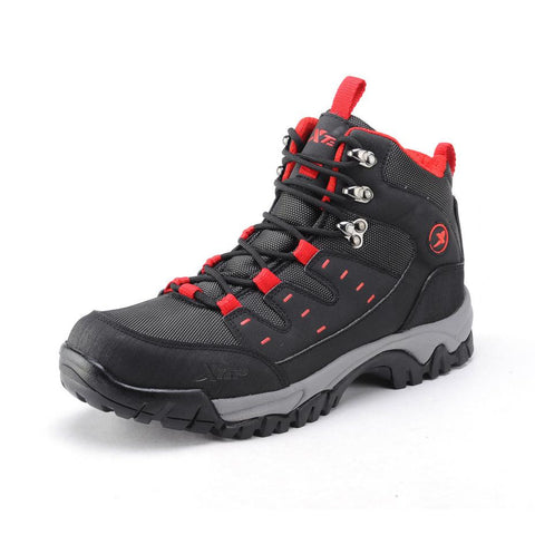 Free Shipping Xtep Comforable Trekking Anti-Skid Outdoor Climbing Hiking Shoes Slip-Resistant Mountaineering Rubber Trail Boots